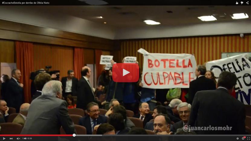 (Vídeo) Escrache a Ana Botella por el derribo y desahucio de Ofelia Nieto