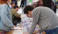 Éxito rotundo del 'Referéndum 3+2' de los estudiantes contra Wert