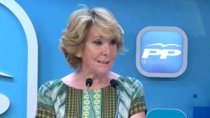 """Esperanza Aguirre insta al PSOE a pactar para defender """"la democracia occidental"""""""