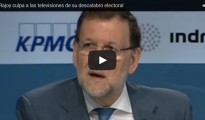 """Rajoy culpa a las televisiones de su desplome electoral por el """"martilleo"""" con la corrupción"""
