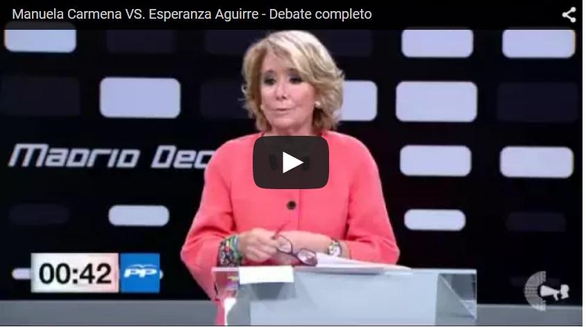 Esperanza debate carmena