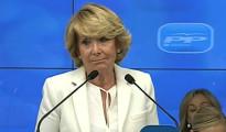 Esperanza Aguirre abandona la presidencia del PP madrileño