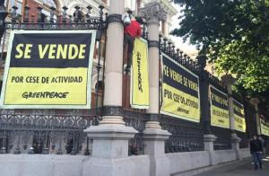 Greenpeace_Vende_Ministerio_Medio_Ambiente