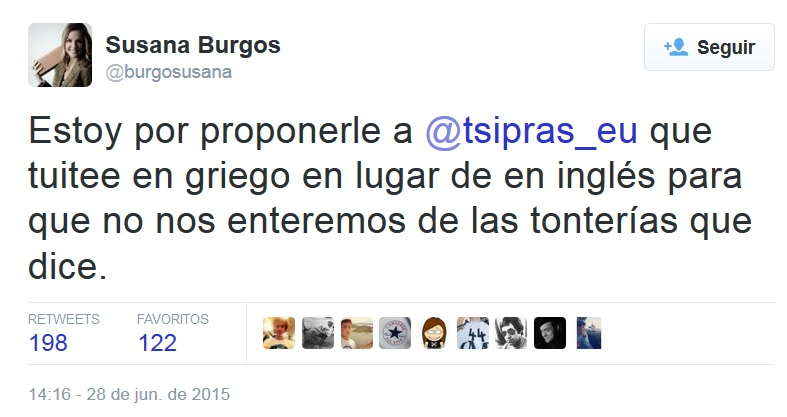Los trabajadores de TVE desconfían de la periodista enviada a Grecia por sus tuits contra Tsipras