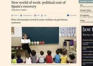 Financial Times-Empleo España