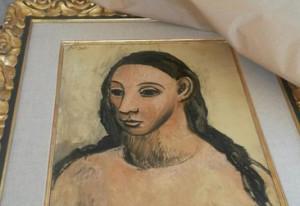 Picasso_Cabeza de mujer joven