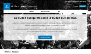 Madrid_Gobierno Abierto_Participacion Ciudadana