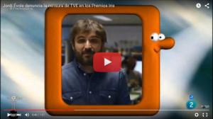 Jordi Evole - Premios Iris