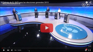 Debate a tres El País 20D