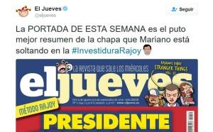 El Jueves - Rajoy - Navidad 2