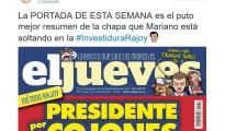 El Jueves - Rajoy - Navidad