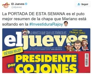 El Jueves - Rajoy - Navidad 3