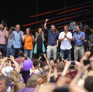 Barcelona 11/06/2016 Politica Miting Podemos FOTO DANNY CAMINAL