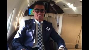 Jet privado de Cristiano Ronaldo. Foto (Twitter)