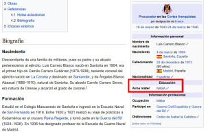 Carrero Blanco - Wikipedia 2