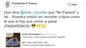 Fundación Francisco Franco_Amenazas_En Marea