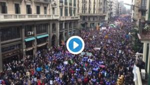 Manifestación_Barcelona_Refugiados