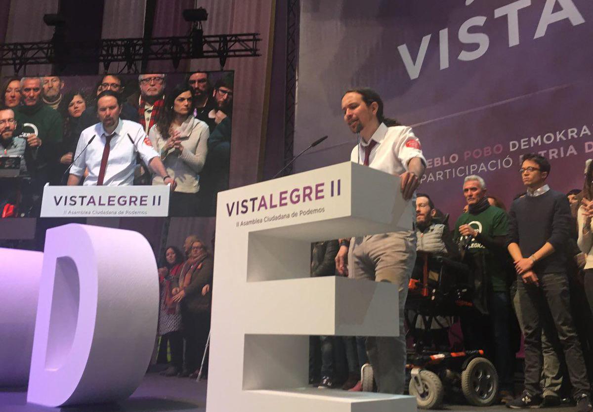 Podemos_Vistalegre II_Pablo Iglesias