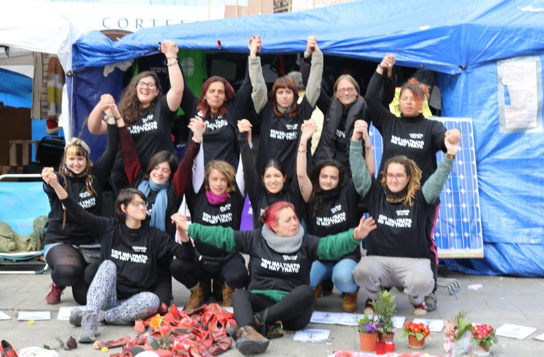 Mujeres_Huelga de hambre_Sol