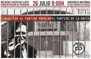 Coordinadora 25S-Rajoy 26J 2017