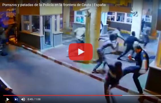 Ceuta-Frontera Violencia Policial