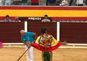 Juan José Padilla_Bandera Franquista