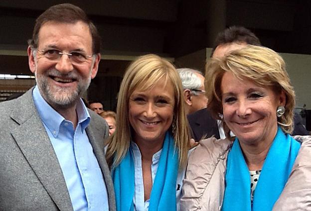 Cifuentes-Rajoy-Aguirre