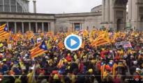 Manifestación-Bruselas-Independencia-Catalunya