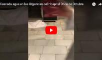 Hospital 12 de Octubre-Rotura tubería