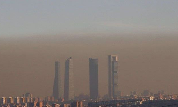 Madrid-Contaminación