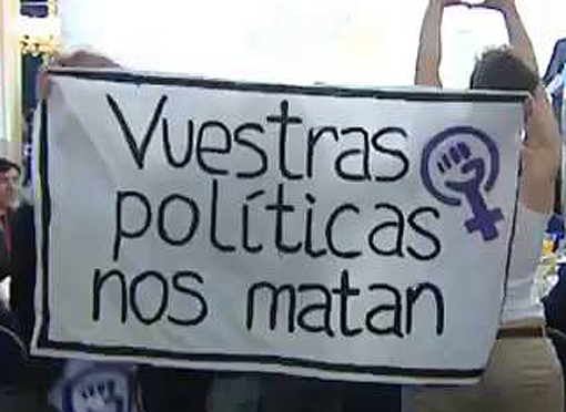 Vuestras políticas nos matan - Violencia Machista