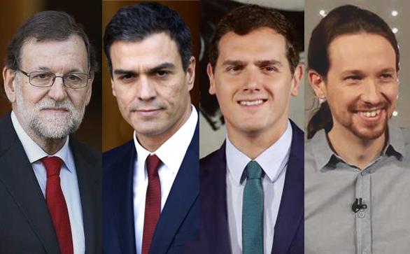 Rajoy-Sánchez-Rivera-Iglesias