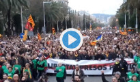 Manifestación Barcelona - Detención Puigdemont