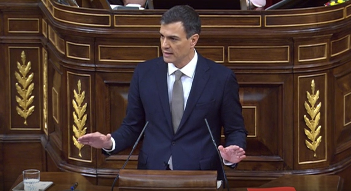 Moción Censura-Pedro Sánchez