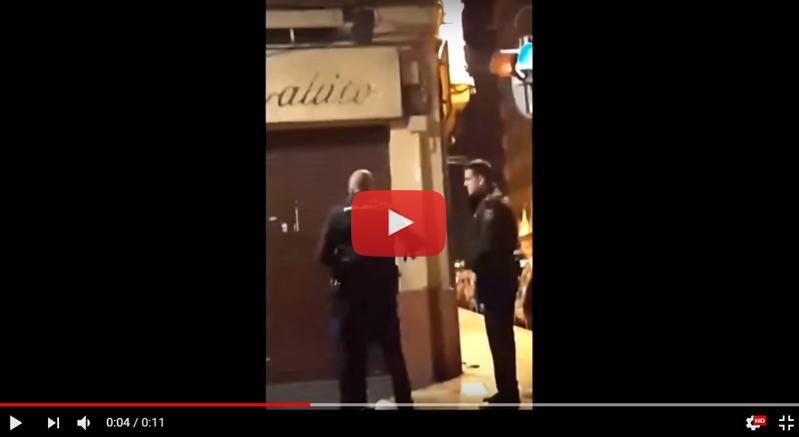 Policía-Orriols-Agresión