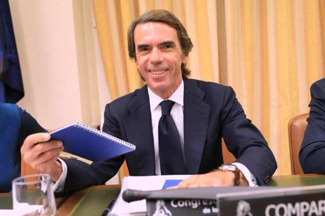 Aznar-Comisión Investigación Caja B