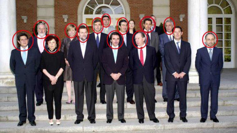 Ministros Aznar