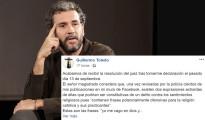 Willy Toledo Procesado