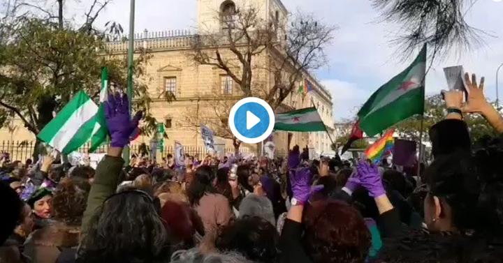 Protesta Feminista-Andalucía-15E