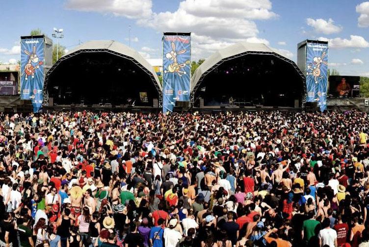 Villarrobledo ha acogido el decimoctavo festival Viña Rock con un lleno total