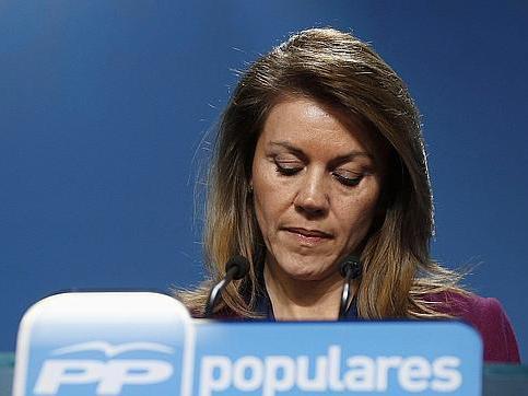 Cospedal mintió sobre el finiquito en diferido: Hacienda demuestra que Bárcenas fue tesorero hasta 2011