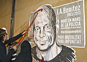 Comienzan las declaraciones ante el juzgado de los mossos implicados en la muerte del empresario del Raval