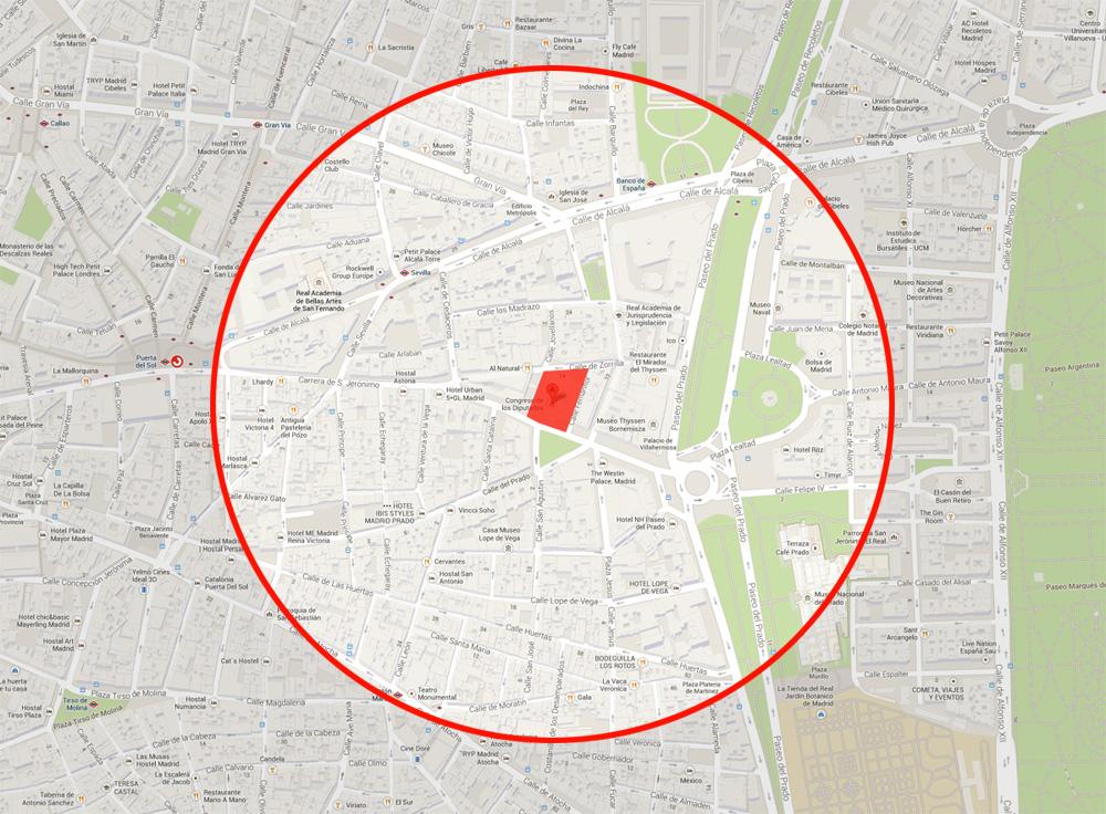 Orden de alejamiento para los detenidos de 'Rodea el Congreso' que les impide transitar el centro de Madrid