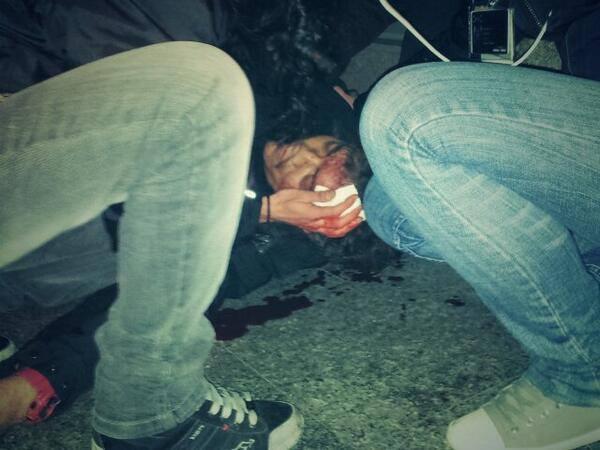 manifestantes heridos 14d