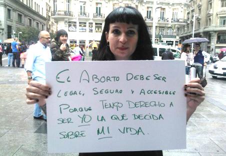 Las ONG internacionales exigen la retirada de la ley del aborto de Gallardón
