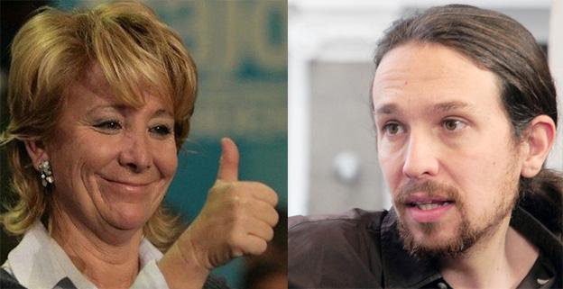 """Aguirre pide a Iglesias que demuestre que no está con ETA regalándole a las víctimas """"ese dinero que le sobra"""""""