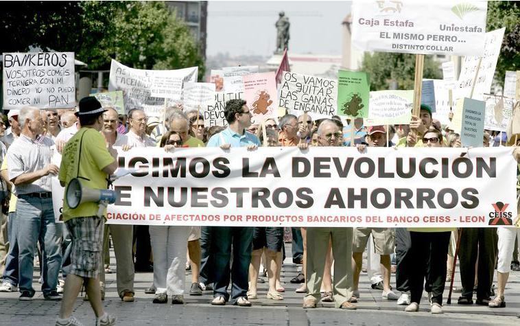Imputados 8 directivos de Caja Duero y Caja España por la estafa de las preferentes