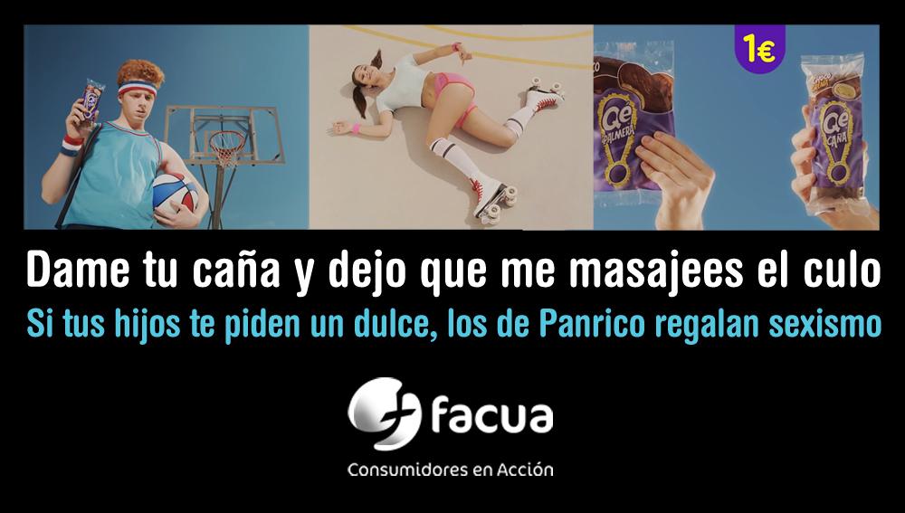 """Facua denuncia el """"estúpido y machista"""" anuncio de Panrico"""