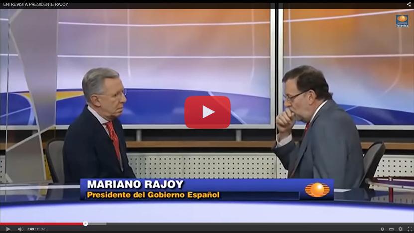 Fobia a los medios: Rajoy solo concedió tres entrevistas en 2014